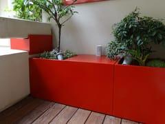 IMAGE'IN, Mobile da giardino Mobile contenitore da giardino / fioriera