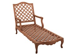 Chaise longue in teak CAMÉLIA   Chaise longue - Camélia