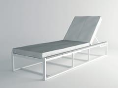 Lettino da giardino reclinabile in alluminioULTRA   Lettino da giardino - 10DEKA