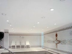 Pannelli per controsoffitto acustico in lana di vetro Ecophon Combison™ Uno Ds - Ecophon Combison™