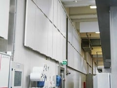 Saint-Gobain ECOPHON, Ecophon Hygiene Advance™ Wall Pannello fonoisolante in lana di vetro