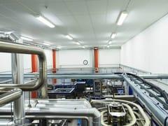 Saint-Gobain ECOPHON, Ecophon Hygiene Foodtec™ A C3 Pannelli per controsoffitto fonoassorbente resistente all'umidità in lana di vetro