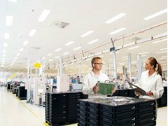 Pannelli per controsoffitto fonoassorbente in lana di vetro per ambienti sanitari Ecophon Hygiene Protec™ A C3 - Ecophon Hygiene™
