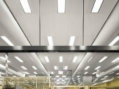 Pannelli per controsoffitto fonoassorbente in lana di vetro per ambienti sanitari Ecophon Hygiene LabotecAir™ A C1 - Ecophon Hygiene™