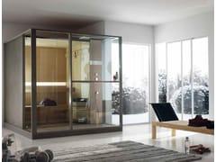 Sauna finlandese con docciaLOGICA S - EFFE PERFECT WELLNESS