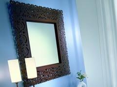Specchio quadrato a parete con cornice ARIA | Specchio quadrato -