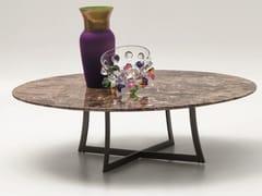 Tavolino basso rotondo in marmo KING | Tavolino basso - King