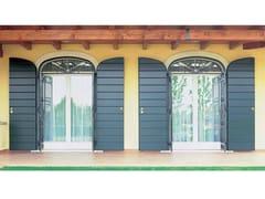 Porta-finestra a battente in legno con triplo vetroKLIMA 92 - CARMINATI SERRAMENTI
