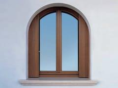 Finestra a battente in rovere con doppio vetroEURO 68 | Finestra a battente - CARMINATI SERRAMENTI