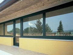 Finestra complanare in alluminio e legnoPASSIVE 120 | Finestra complanare - CARMINATI SERRAMENTI