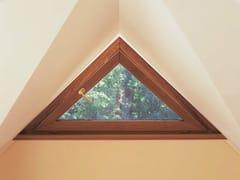 Finestra a vasistas in legnoEURO 68 | Finestra a vasistas - CARMINATI SERRAMENTI