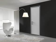 Porta a battente con pannello in legno/laminatoEASYDOOR | Porta con telaio in alluminio - ALSISTEM