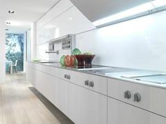 Cucina in rovere bianco B3 | Cucina lineare - b3