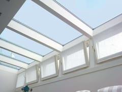 CARMINATI SERRAMENTI, Copertura in vetro Lucernario continuo