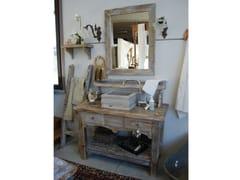 Mobile lavabo da terra in legno con cassettiVINTAGE - BLEU PROVENCE