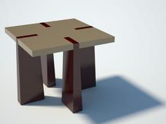 Tavolo quadrato in multistratoCASTRUM   Tavolo - ZURI DESIGN