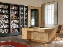 Scrivania in ciliegio con cassetti '900 ROMA | Scrivania -