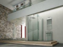 Box doccia angolare in vetro ICONA SEPARÈ ANGOLO - Icona