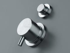 Miscelatore per doccia/vasca in acciaio inox con deviatore COCOON MONO 02 -