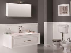 Mobile lavabo sospeso con specchioCHARME 2 - BLEU PROVENCE