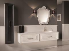 Mobile lavabo doppio con specchioCHARME 3 - BLEU PROVENCE