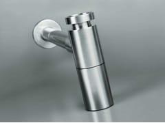 COCOON, COCOON MONO 50 Sifone in acciaio inox per lavabo
