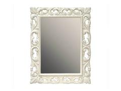 BLEU PROVENCE, MUGUET Specchio rettangolare in legno con cornice
