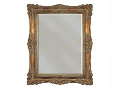 BLEU PROVENCE, LIS Specchio rettangolare in legno con cornice