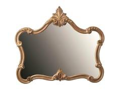 BLEU PROVENCE, TULIPE Specchio in legno da parete con cornice