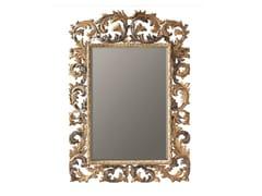 BLEU PROVENCE, MARGUERITE Specchio rettangolare in legno con cornice