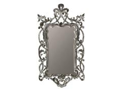 BLEU PROVENCE, VIOLET Specchio rettangolare in legno con cornice