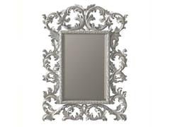 BLEU PROVENCE, EDERA Specchio rettangolare in legno con cornice