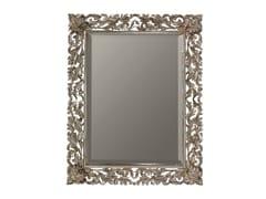 BLEU PROVENCE, OLIVIER Specchio rettangolare in legno con cornice
