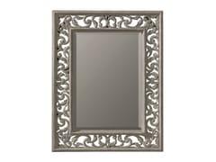 BLEU PROVENCE, GLYCINE Specchio rettangolare in legno con cornice