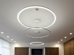 Lampada a sospensione a LED in alluminio CIRCOLO SLIM | Lampada a sospensione - Circolo