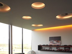 Lampada da soffitto a luce indiretta a incasso USO 100 50 COVE LIGHTING - Soft Collection - In