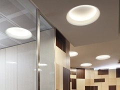 Lampada da soffitto a luce indiretta fluorescente a incasso USO 900 COVE LIGHTING - Soft Collection - In