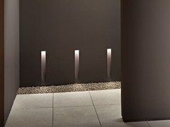 Segnapasso a LED a parete in alluminio VERTICAL LIGHT SMALL - Soft Collection - In
