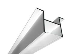 Profilo per illuminazione lineare per lampade fluorescenti USP 11 16 12 - Soft Collection - Linear