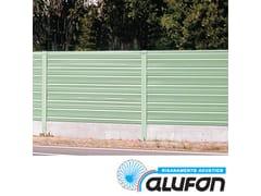 Pannello fonoassorbente in alluminioALUFON ALLUMINIO 12/10 POLIESTERE - ALUFON