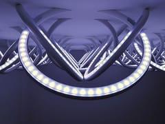 Lampada da soffitto a luce indiretta a semi-incasso WALL PIERCING | Lampada da soffitto - Soft Collection - 3D