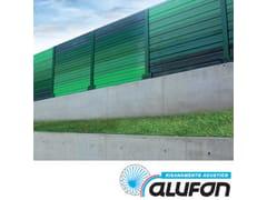 Pannello fonoassorbente in alluminioALUFON ALLUMINIO 15/10 - ALUFON