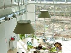 Lampada a sospensione fluorescente USL 160 71 - Soft Collection - 3D
