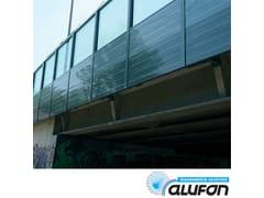 Pannello fonoassorbente in alluminioALUFON ALLUMINIO 12/10 - ALUFON