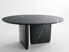 Tavolo rotondo in marmo TOBI-ISHI | Tavolo in marmo - Tobi-Ishi