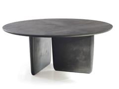Tavolo rotondo finitura cemento TOBI-ISHI | Tavolo rotondo - Tobi-Ishi
