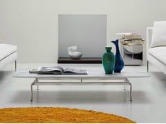 Tavolino basso rettangolare in marmo DIESIS | Tavolino - Diesis
