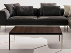 Tavolino basso rettangolare in legno massello MICHEL | Tavolino - Michel