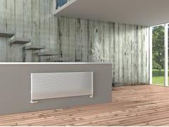 Radiatore a parete ad acqua calda KARIN VX OR - Monocolonna