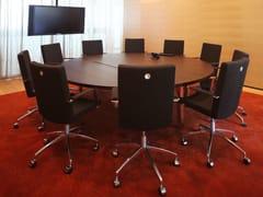Tavolo da riunione modulare rotondo IN-TENSIVE | Tavolo da riunione rotondo - In-Tensive